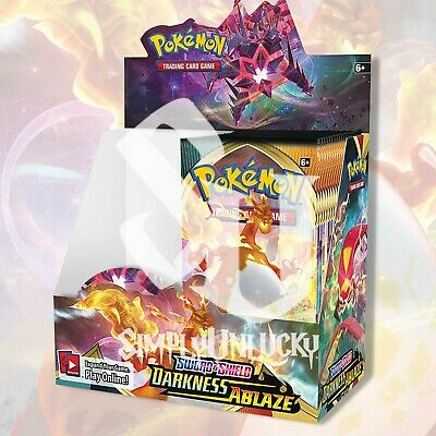 Pre Release Unopened Darkness Ablaze Build and Battle Deck