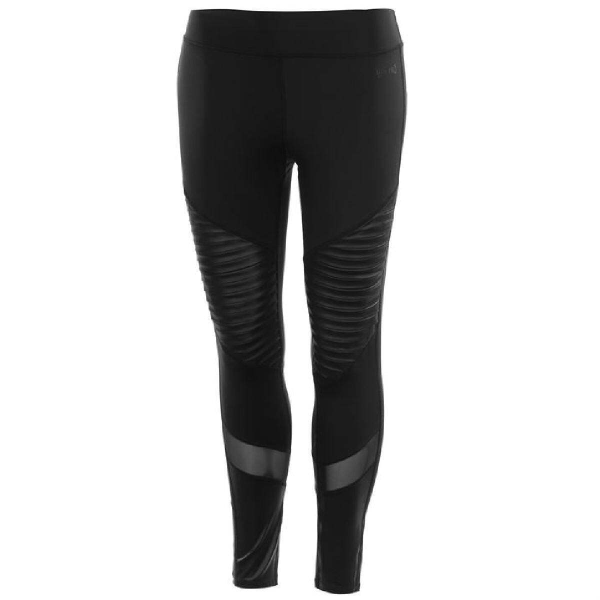 USA Pro Da Donna Leggings Tights pantaloni pantaloni sportivi 36 (S) Fitness Jogging Sport 7515