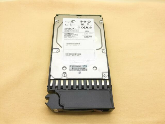 516814-B21 HP 300GB 15K 6G LFF SAS 3.5/'/' HOT PLUG DP HDD FOR G6 G7
