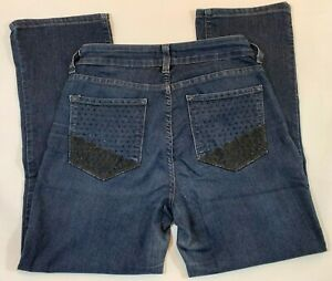 Not-Your-Daughters-Jeans-Womens-Straight-Jeans-NYDJ-Made-in-USA-Size-US-2