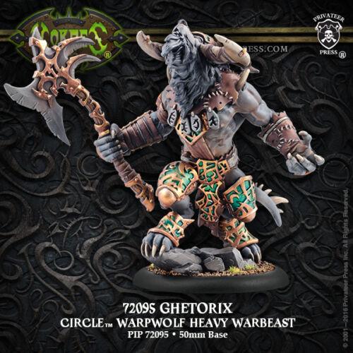 Hordes: Circle Orboros Ghetorix Warpwolf Heavy Warbeast PIP 72095