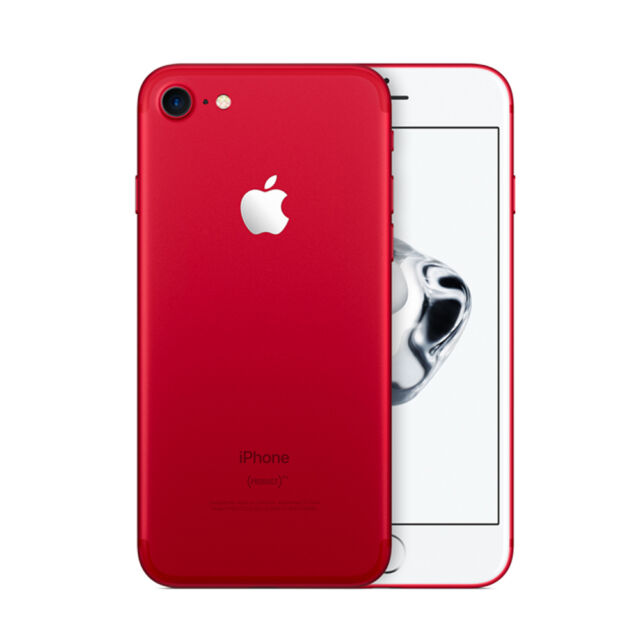 New Apple iPhone 7 128GB RED Special Edition WARRANTY Factory Unlocked Phone