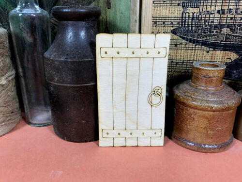 WOODEN PIXIE DOOR SHAPE Multiple Sizes Fairytale Wood Shapes Craft Sign Fairy