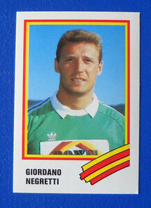 FIGURINA-EUROFLASH-CALCIO-89-N-156-NEGRETTI-LECCE-new