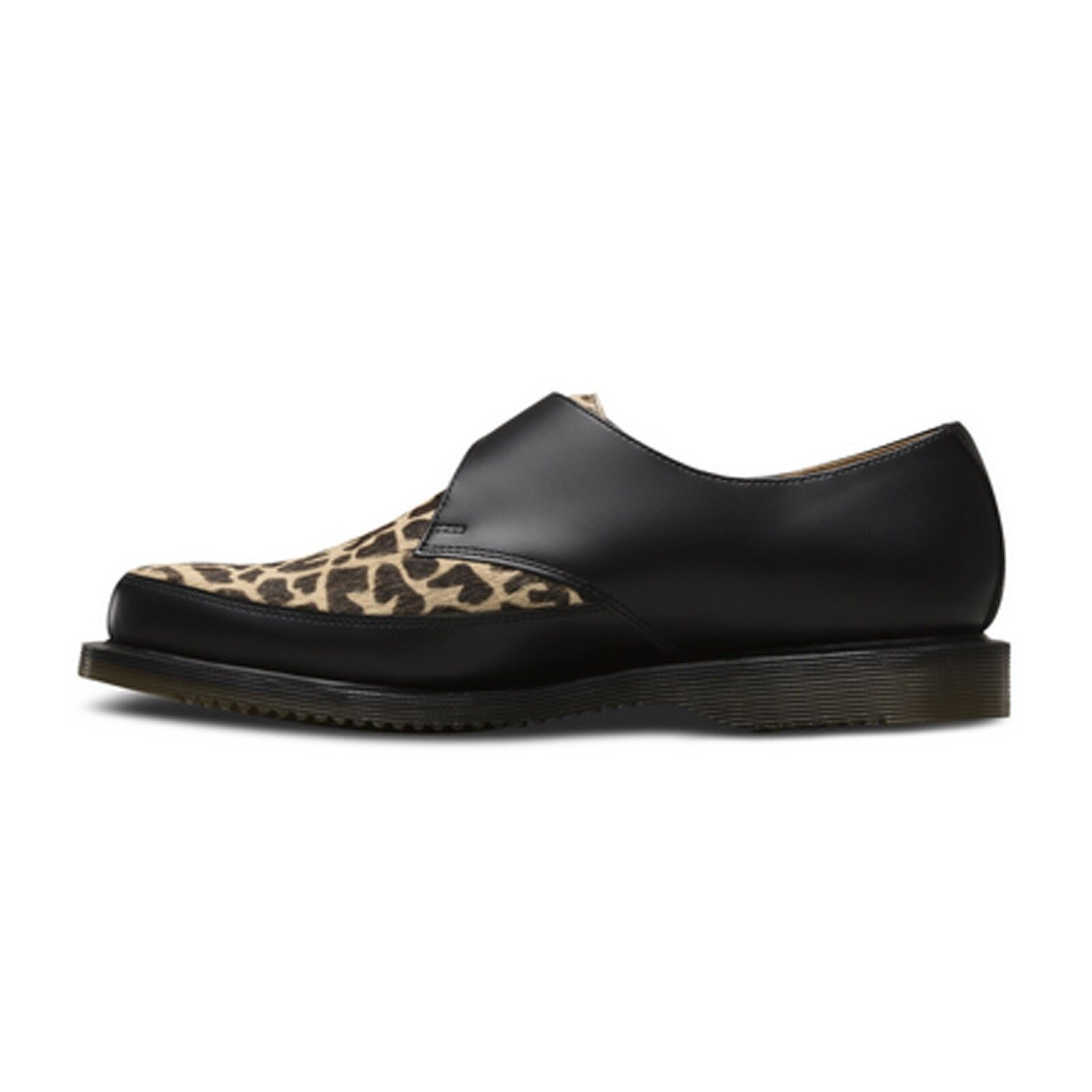 Dr. Martens - Hawley Smooth schwarz 20861002 Monk Strap Rockabilly Creeper Giraffe