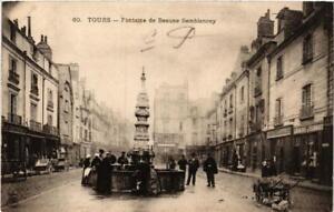 CPA-Tours-Fontaine-de-Beaune-Semblancay-611839