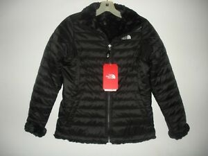 17d1ecc8abf5 Details about THE NORTH FACE GIRLS REVERSIBLE MOSSBUD SWIRL JACKET-CN01-  XS
