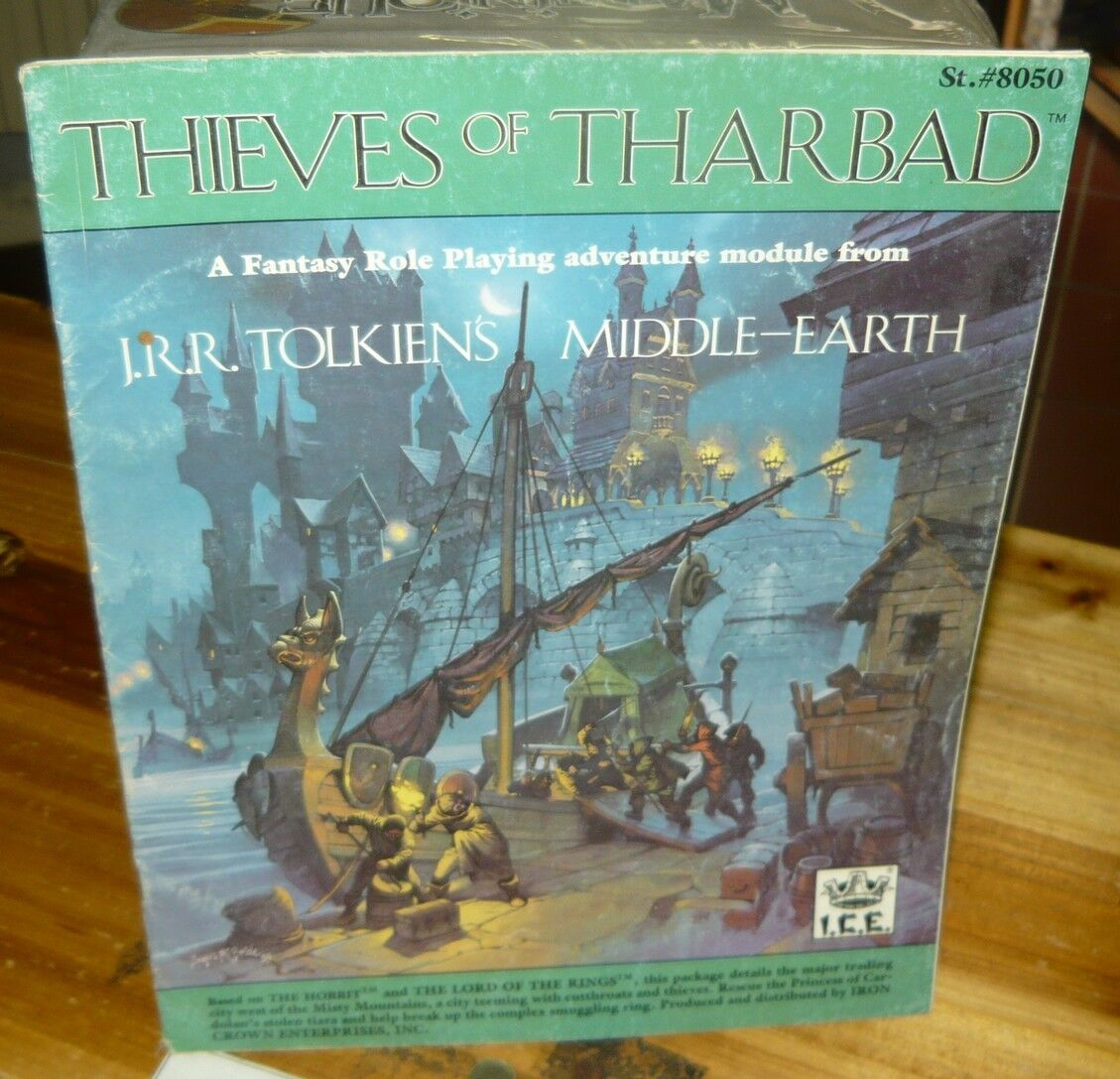 ICE MERP Thieves of Tharbad Adventure Module Middle Earth