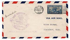 CAM-27E27-Amelia-Earhart-Flown-amp-Signed-Flight-Detroit-to-Cleveland-1929