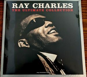 Ray-Charles-ULTIMATE-COLLECTION-180g-GREATEST-HITS-Best-Of-NEW-CLEAR-VINYL-2-LP