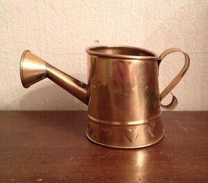 Vintage Hosley Usa Miniature Brass 2 3 4 Decorative