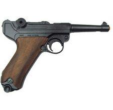 Denix WWII German Luger Parabellum P-08 Replica Pistol - Wood Grips