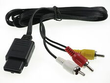 AV-Kabel für Super Nintendo SNES N64 GameCube Fernseh SFC Chinch TV Kabel NEU