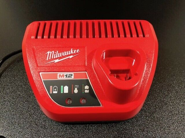 AC 220V Milwaukee  Charger 12V  C12C Lithium-Ion Batteries Only Tools