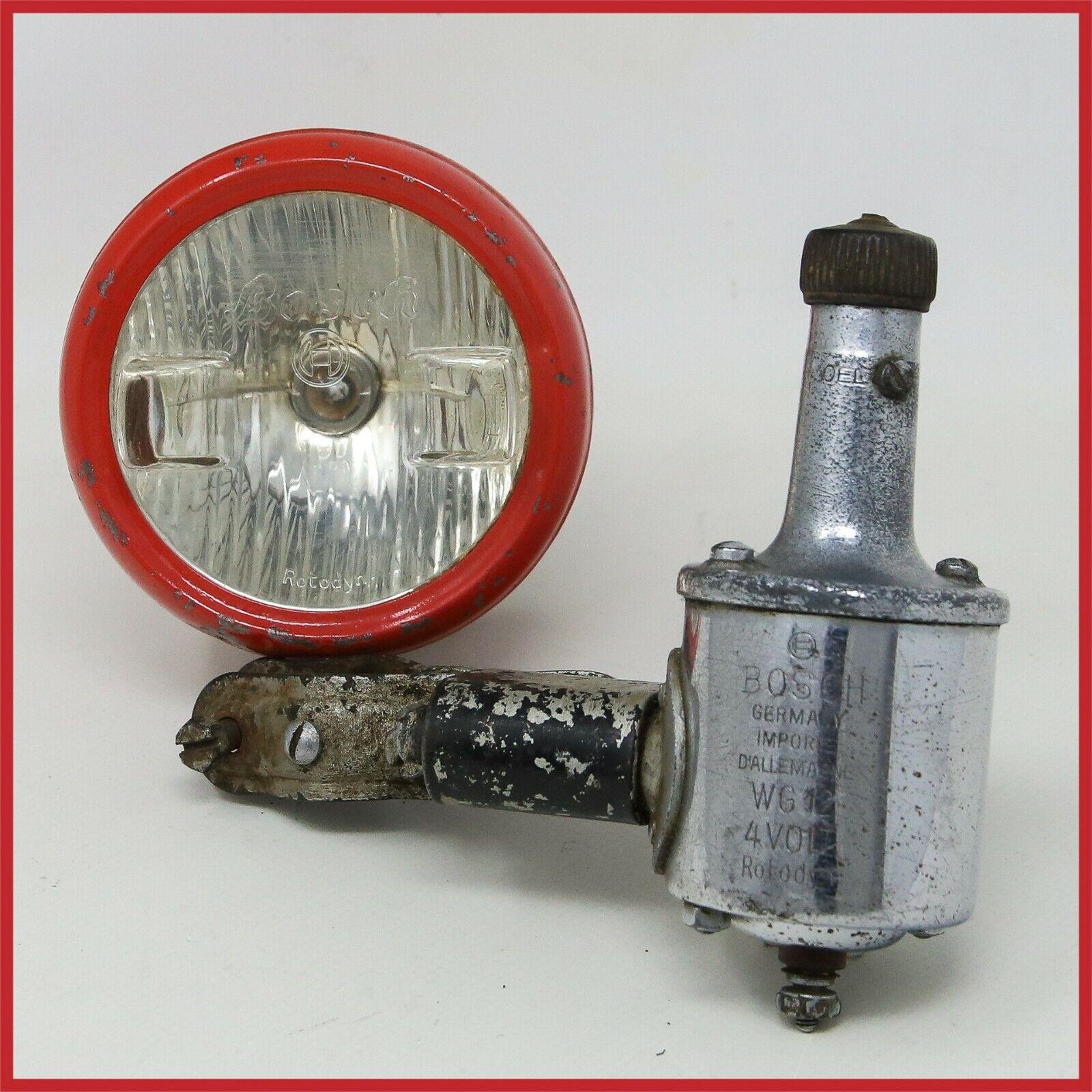 BOSH rossoODYN HEADLAMP DYNAMO 30s 40s strada TOURING BIKE ANTIQUE VINTAGE LAMP OLD