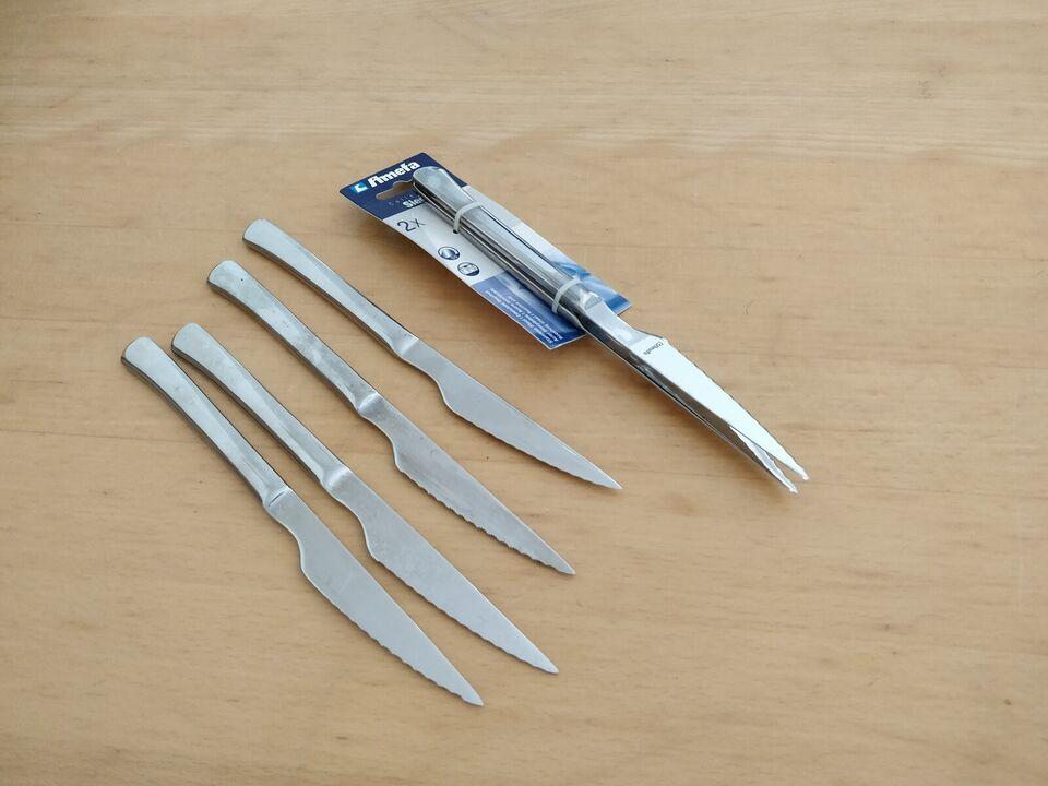 Rustfrit stål, Knive, Amefa
