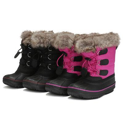Winter For Boys Girls Children Kids Waterproof Outdoor Shoes Snow Boots