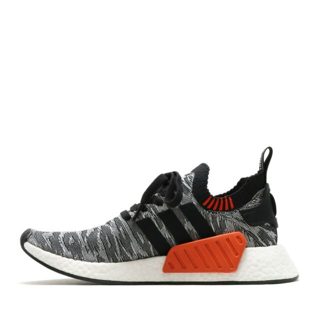 Size 8 Adidas Nmd R2 Primeknit Core Black 2017 By9409 For Sale Online Ebay