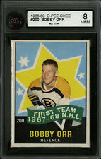 1968-69 1968 OPC O-PEE-CHEE~#200~BOBBY ORR~KSA  8 (NM-MT)~BOSTON BRUINS STAR