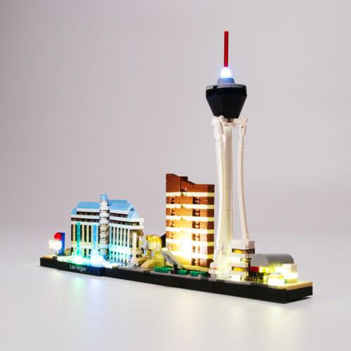 Led Licht Set Für 21047 LEGO Architecture Las Vegas Beleuchtungs Kit