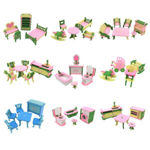 Wooden-Simulation-Toys-Set-Miniature-House-Furniture-for-Kids-Pretend-Play-TN2F