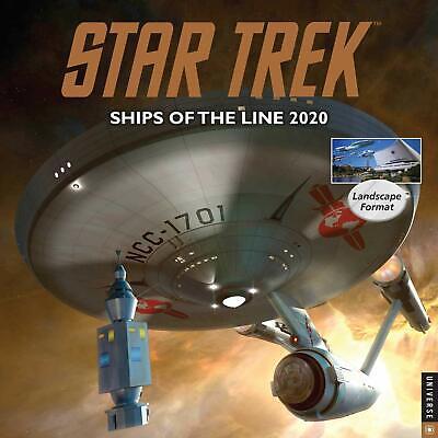 Star Trek Ships of the Line 12 Month 2020 Wall Calendar
