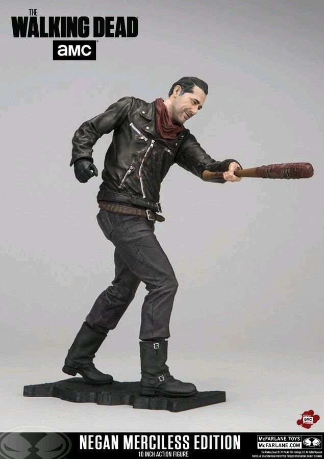 The Walking Dead - Negan Merciless Edition Deluxe 25cm Figure