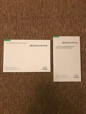 hyundai sonata owners manual ebay