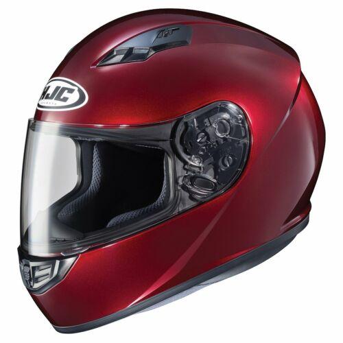 HJC CS-R3 Solid Motorcycle Helmet Wine Red