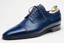 NIB Stefano Bemer Leather Shoes 10 (43) Goodyear Handmade in Italy