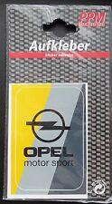Aufkleber OPEL MOTORSPORT Logo Farben GSi OPC Sticker Autocollant
