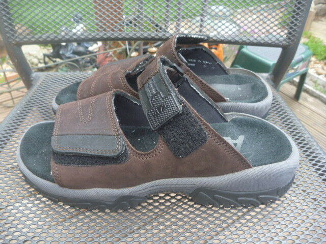 CLARKS ATL SIZE UK LEATHER 8G WIDE  Herren LEATHER UK QUALITY SANDALS TOUCH FASTENERS f8e835