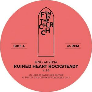 Bing-Austria-ruined-Heart-rocksteady-VINILE-LP-NUOVO-Single
