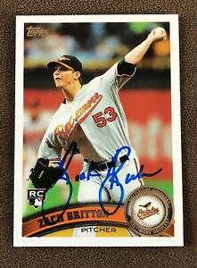 Zach-Britton-Signed-2011-Topps-Update-Series-Autographed-Card-RC-Auto-Orioles