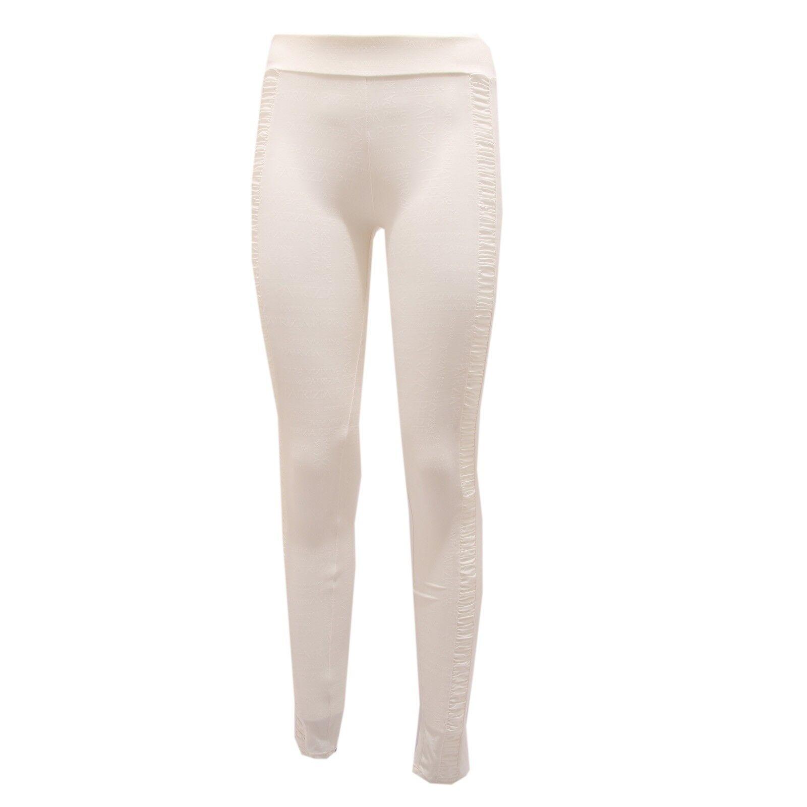 0319Q LEGGINGS PATRIZIA PEPE LOVE SPORT panna pantalone damen damen damen trouser woman 88ea1b