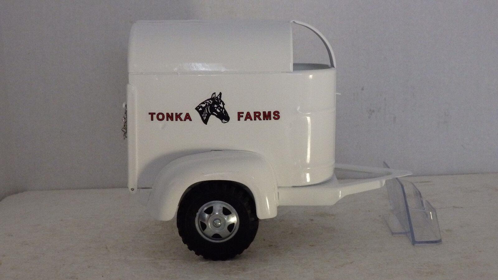 Tonka granjas remolque de caballos para camiones de 53-58 pin type Enganche