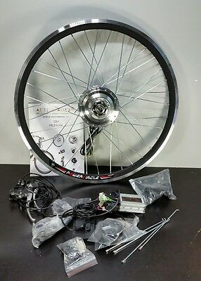 """AFTERPARTZ Electric Bike Bicycle Front Motor DIY Conversion Kit Front Wheel 26"""""""