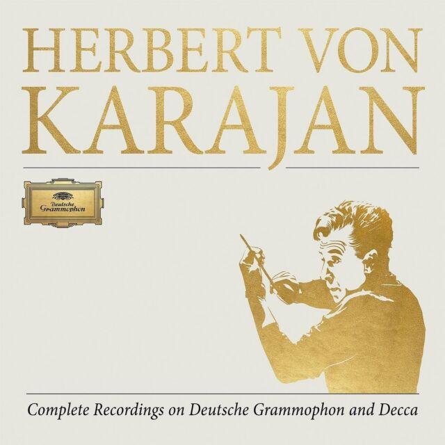 HERBERT VON KARAJAN-COMPL. RECORDINGS ON DG&DECCA LTD EDT ITION )  355 CD+DVD