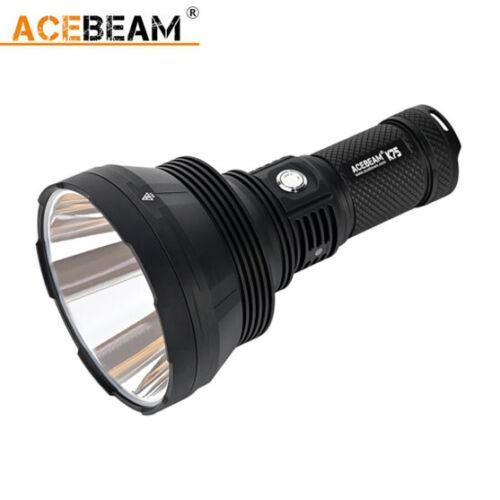 Acebeam Limited lanzamiento de la última gama larga luz fuerte K75 2500m 6300 lume