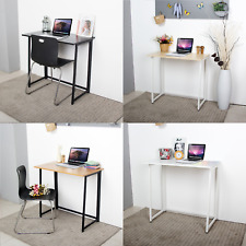 Neo Foldable Compact Computer Home Study Office Student Laptop Table Wooden Desk