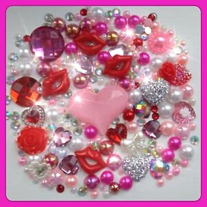 3 My Little Pony Theme Cabochons Hearts /& Roses flatbacks for decoden crafts
