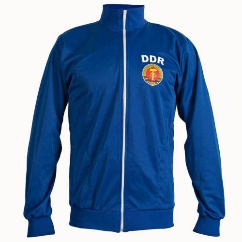 Children/'s East Germany DDR Jacket 1970/'s Retro Football Jacket Tracksuit Zipped