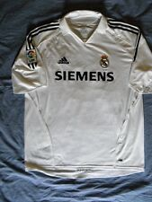 Adidas Real Madrid La Liga Authentic ROBINHO jersey XL NEW NWOT Hala Vintage