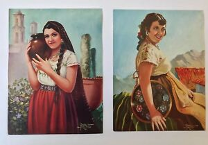 Rather sorry, vintage mexican pinups