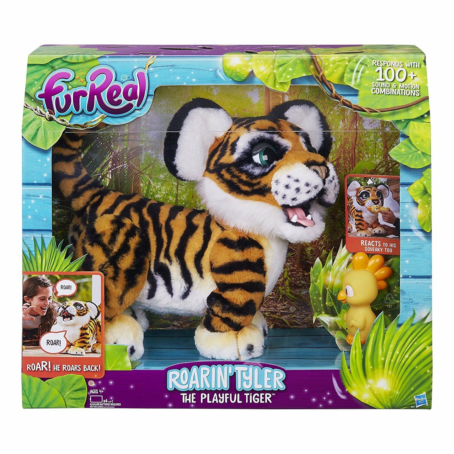 FurReal Roarin' Tyler, the Playful Tiger - NEW