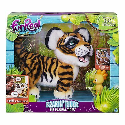 The Playful Tiger Furreal Roarin' Tyler New