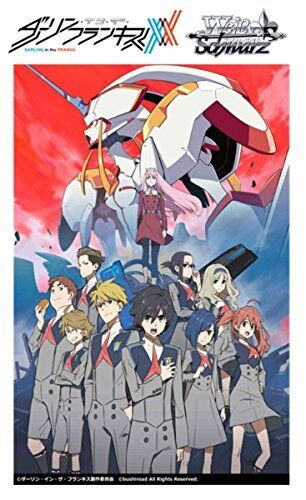 BUSHIROAD Weiss Schwarz Booster Pack DARLING in the FRANXX card 1BOX = 16 pack