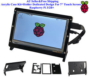 AU-Acrylic-Case-Kit-Holder-Dedicated-Design-For-7-034-Touch-Screen-Raspberry-Pi-3