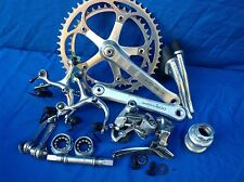 VINTAGE SHIMANO 600 6 SPEED 170mm 42/52 GROUP PARTS in good condition