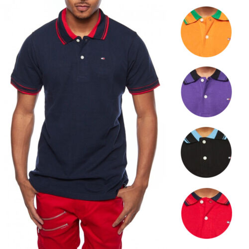 Tommy Hilfiger Custom Fit Premium Polo Mens Shirt